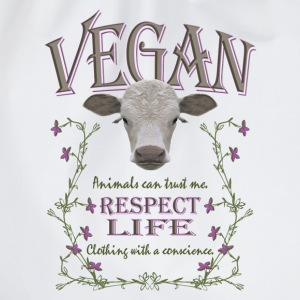 VEGAN - RESPECT LIFE - Turnbeutel