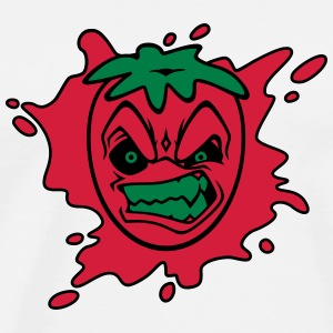 Angry Strawberry Men's Hoodie - Mannen Premium T-shirt