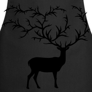 large antlers T-Shirts - Cooking Apron