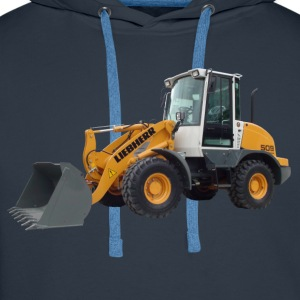 wheel loader T-shirts - Premiumluvtröja herr