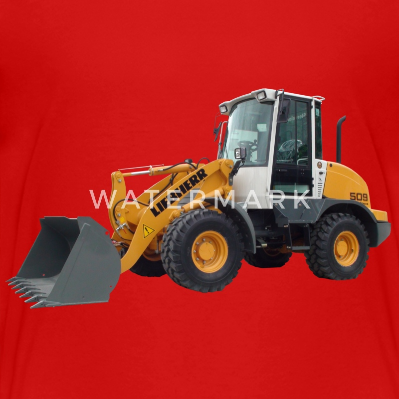 wheel loader T-shirts - Premium-T-shirt barn