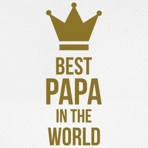 Best Papa in the world ! Kookschorten - Baseballcap