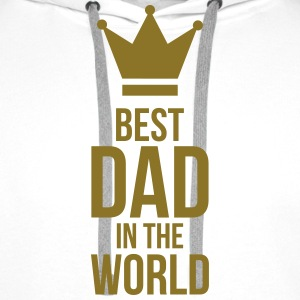 Best Dad in the World ! Kepsar & mössor - Premiumluvtröja herr
