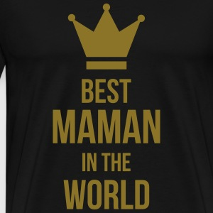Best Maman in the world ! Schürzen - Männer Premium T-Shirt