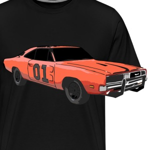 General Lee Dodge Charger - Männer Premium T-Shirt