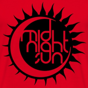Midnight Sun Design 2014 - Männer T-Shirt
