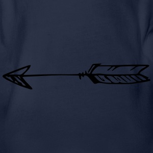 Arrow Langarmshirts - Baby Bio-Kurzarm-Body