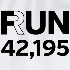 Fun / Run 24,196 (Marathon Distance) T-shirts - Gymtas
