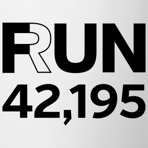Fun / Run 24,196 (Marathon Distance) Tee shirts - Tasse