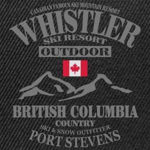 Whistler Ski Resort - Canada Tee shirts - Casquette snapback