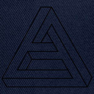 Illusion optique - Figure Impossible - triangle Tee shirts - Casquette snapback