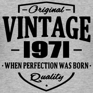 Vintage 1971 Sweatshirts - Herre Slim Fit T-Shirt