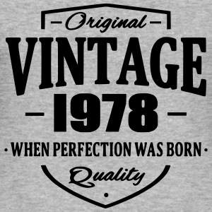 Vintage 1978 Hoodies & Sweatshirts - Men's Slim Fit T-Shirt