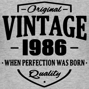 Vintage 1986 Hoodies & Sweatshirts - Men's Slim Fit T-Shirt