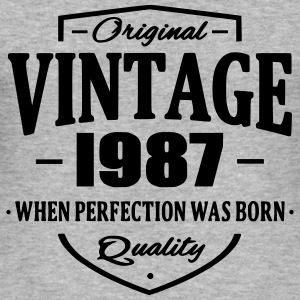 Vintage 1987 Hoodies & Sweatshirts - Men's Slim Fit T-Shirt