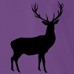 deer - antler - hunting - hunter Hoodies & Sweatshirts - Men's Premium T-Shirt