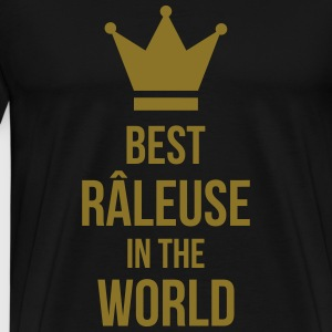 Best Râleuse in the World Tabliers - T-shirt Premium Homme
