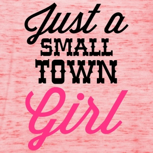 Small Town Girl Sweat-shirts - Débardeur Femme marque Bella