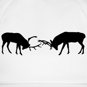 deer - antler - hunting - hunter T-Shirts - Baseball Cap