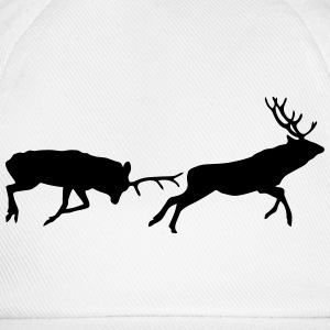 deer - antler - hunting - hunter Long Sleeve Shirts - Baseball Cap