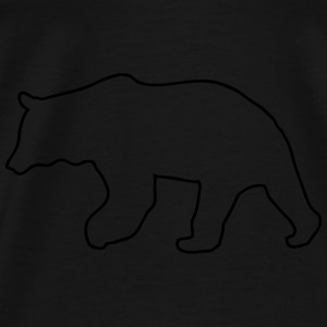 bear - brown bear - hunting - hunter Tops - Men's Premium T-Shirt