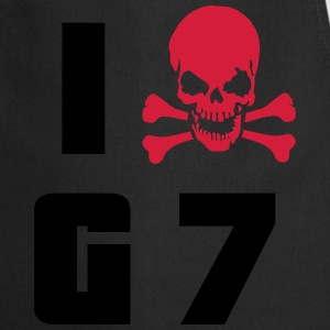 I hate G7 Skull T-Shirts - Cooking Apron
