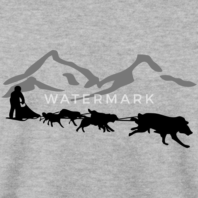 Husky - dog sled - Yukon Quest - Alaska  Gensere - Genser for menn