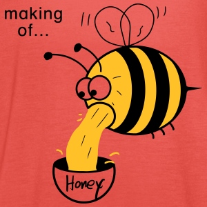 Making of Honey :-) Bee Shirts - Women's Tank Top by Bella