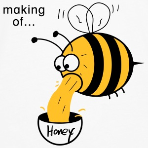 Making of Honey :-) Bee Accessories - Men's Premium Longsleeve Shirt