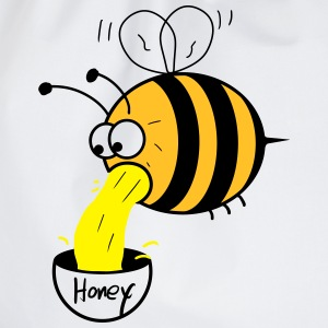 making of honey - bee :-) Tee shirts - Sac de sport léger