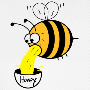 making of honey - bee :-) T-shirts - Basebollkeps