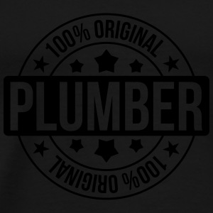 Plumber Mugs & Drinkware - Men's Premium T-Shirt