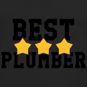 Best Plumber Mugs & Drinkware - Men's Premium Longsleeve Shirt
