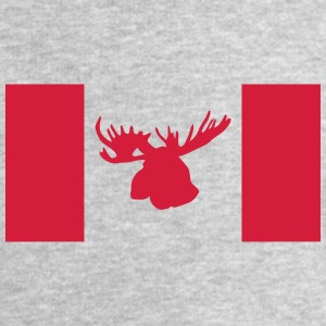 moose - elk - hunting - hunter - canada T-Shirts - Men's Sweatshirt by Stanley & Stella