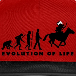 evolution_indianer_122014_c_2c T-Shirts - Snapback Cap