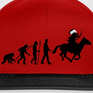 evolution_indianer_122014_b_2c T-Shirts - Snapback Cap