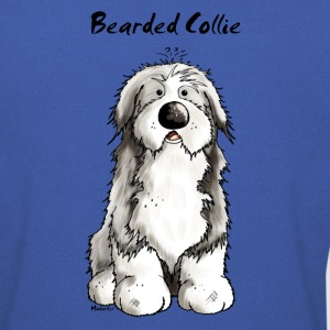 Mignon Bearded Collie -  Colley Barbu Tee shirts - Sweat-shirt Homme
