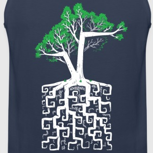 Square Root T-Shirts - Men's Premium Tank Top