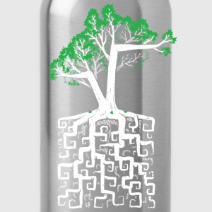 Square Root Shirts - Water Bottle