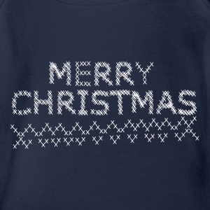 Merry Christmas T-Shirts - Baby Bio-Kurzarm-Body