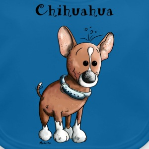 Grappige Chihuahua - Hond - Honden - Hondenras Shirts - Bio-slabbetje voor baby's