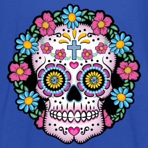 Dia de los Muertos Skull - Women's Tank Top by Bella