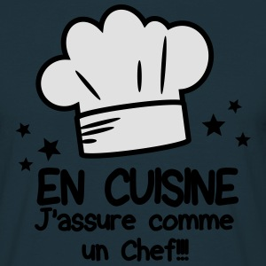 chef Tabliers - T-shirt Homme