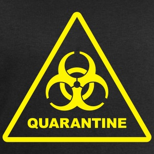 Biohazard Quarantine (zombie danger) T-Shirts - Men's Sweatshirt by Stanley & Stella