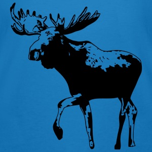 moose - elk - hunting - hunter Hoodies & Sweatshirts - Men's Organic T-shirt