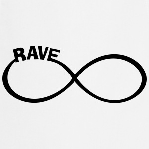 rave raver raven rave wear T-Shirts - Cooking Apron