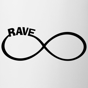endless RAVE infinity Dance + Musik Party Outfit T-Shirts - Tasse