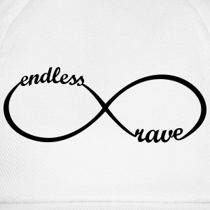 endless rave * Party Outfit Bilder Logo Musik Icon Tops - Baseballkappe