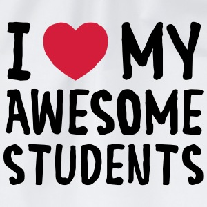I Love (Heart) My Awesome Students Tee shirts - Sac de sport léger