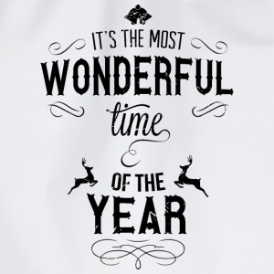 most_wonderful_time_of_the_year_b T-Shirts - Drawstring Bag